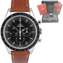 Omega 311.32.40.30.01.001 Steel Speedmaster Professional Moonwatch 39.7mm pre-owned