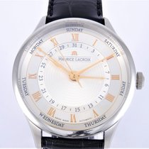 Maurice Lacroix Masterpiece Cinq Aiguilles neu 2017 Automatik Uhr mit Original-Box und Original-Papieren MP6507-SS001-111