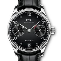 IWC Portuguese Automatic Steel 42,3mm Black Arabic numerals