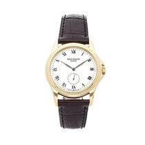 Patek Philippe Calatrava Yellow gold 35mm White Roman numerals United States of America, Pennsylvania, Bala Cynwyd