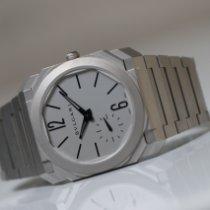 Bulgari Octo Steel 40mm Silver No numerals