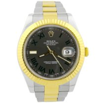 Rolex Datejust II Gold/Steel 41mm Grey Roman numerals United States of America, California, Fullerton
