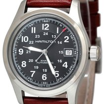 Hamilton Khaki Field Steel Arabic numerals United States of America, New York, Brooklyn