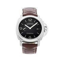 Panerai Steel Automatic Black Arabic numerals 44mm pre-owned Luminor Marina 1950 3 Days Automatic