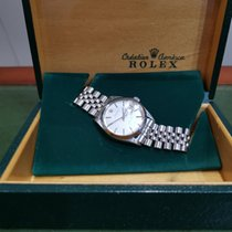 Rolex Oyster Precision Steel Silver No numerals United Kingdom, Leicestershire