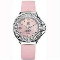 TAG Heuer Formula 1 Lady pre-owned 38mm Pink Date Satin