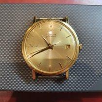 Corum Or jaune 34mm Remontage automatique Corum Journal 18karat Gold Vintage Men's Watch occasion Belgique, CORUM