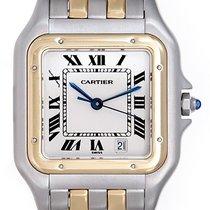 Cartier Panther Large Quartz Steel & Gold Men's Watch...