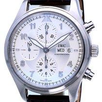 IWC Pilot Chronograph Spitfire Day-Date Steel 42 mm (Full Set)