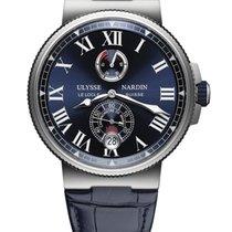 Ulysse Nardin Marine Chronometer Manufacture Steel 45mm