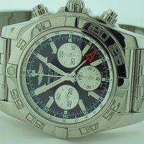 Breitling Chronomat GMT Acero 47mm Negro Sin cifras