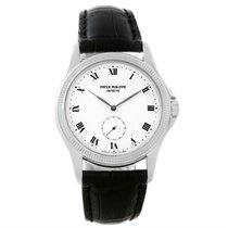 Patek Philippe Calatrava 18k White Gold Watch 5115 Papers