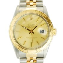 Rolex DateJust 18K YG/SS Thunderbird Turn-O-Graph-16253