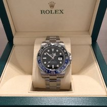 "Rolex GMT-Master II ""Batman"" Black and Blue Bezel 116710"