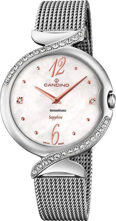 Candino Elegance Flair C46111 Damenarmbanduhr Swiss Made
