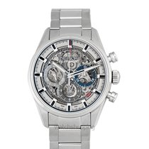 Zenith Chronomaster El Primero Full Open Skeleton/Steel 38mm -...