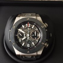 Hublot Chronograph 45mm Automatic 2015 pre-owned Big Bang Unico Transparent