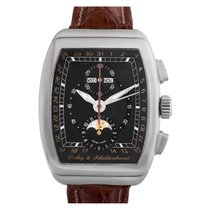 Dubey & Schaldenbrand Chronograph 38mm Automatic pre-owned Black