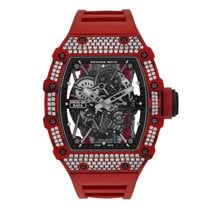 Richard Mille Red Quartz-TPT Diamonds Watch RM35-02