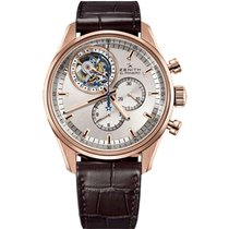 Zenith El Primero Tourbillon Rose gold Silver United States of America, Florida, North Miami Beach
