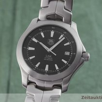 TAG Heuer Link Calibre 7 Steel 39.5mm Black