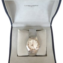 Longines Oposition 40mm White No numerals