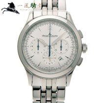 Jaeger-LeCoultre Master Chronograph pre-owned 40mm Silver Steel
