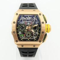 Richard Mille new Automatic 50mm Titanium Sapphire Glass