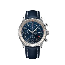 Breitling Navitimer GMT Steel 46mm Blue United States of America, Florida, Boca Raton