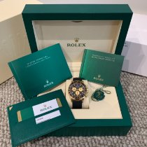 Rolex Daytona Yellow gold 40mm Black No numerals Australia, 2065