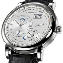 A. Lange & Söhne Lange 1 White gold 41.9mm Silver Roman numerals United States of America, Florida, Sunny Isles Beach