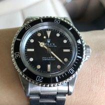 勞力士 Submariner (No Date) 鋼 40mm 黑色 無數字 香港, hong kong