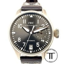 IWC Big Pilot White gold 46.4mm Grey Arabic numerals United States of America, New York, New York