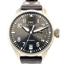 IWC Big Pilot White gold 46.4mm Grey Arabic numerals United States of America, New York, New York