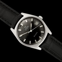 Omega Genève Steel 34mm Black United States of America, Georgia, Suwanee