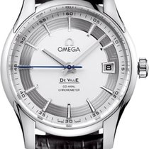 Omega Steel Automatic Silver 41mm new De Ville Hour Vision