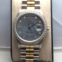 Rolex Day-Date 36 White gold 37mm Mother of pearl No numerals