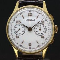 Leonidas Chronograph White Dial Handaufzug ca. 1950