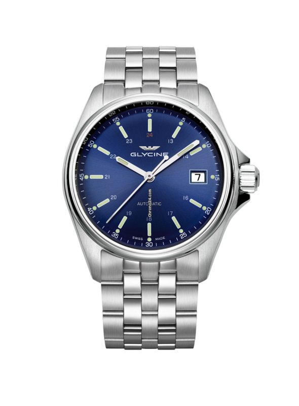 Glycine COMBAT 6 CLASSIC 36 Lady Full Steel Blue Dial GL-0106