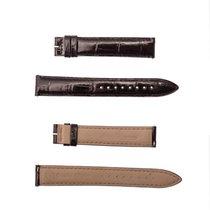 Jaeger-LeCoultre 17mm black glossy strap [032]