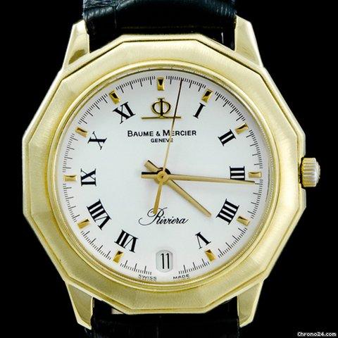 bfc578166ec Baume   Mercier Riviera - Todos os preços de relógios Baume   Mercier  Riviera na Chrono24