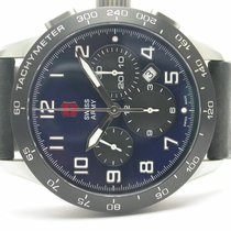 Victorinox Swiss Army Airboss Mach6 Limited Edition Blue Dial...