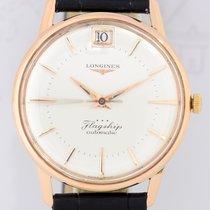Longines Flagship Automatic Date Vintage 18K Roségold rar...