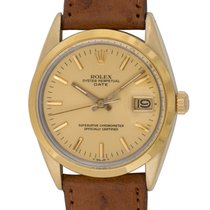 Rolex : Date :  15505 :  Gold shell over Stainless Steel :...