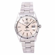 Rolex Date 15010 Mens Automatic Watch Silver Dial Stainless...
