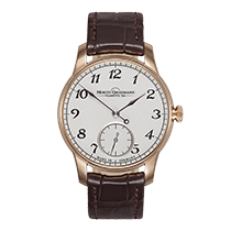 Moritz Grossmann BENU Rose gold 37mm Silver (solid) Arabic numerals