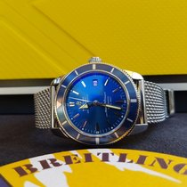 Breitling SuperOcean Heritage 42mm Blue dial  Full set A17321