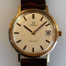 Omega Genève pre-owned 35mm Yellow gold