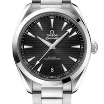 Omega Acero Automático Negro nuevo Seamaster Aqua Terra