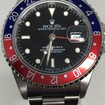 Rolex GMT-Master Acier 40mm Noir Sans chiffres Belgique, rhone alpes